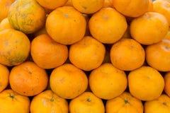 Mandarijn, citrusvruchtenrijken in vitamine C stock foto's