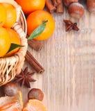 mandarijnen Royalty-vrije Stock Afbeeldingen