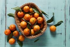 mandarijnen Stock Afbeeldingen