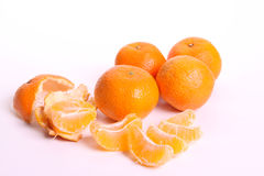 Mandarin. For a healthy diet Royalty Free Stock Photo