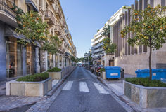 Mandarin alley in Cannes, France Royalty Free Stock Images