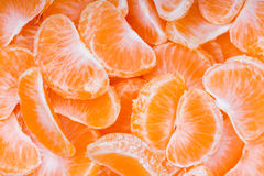 Mandarin as texture. Stock Photography