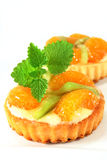 Mandarin cake Stock Photo