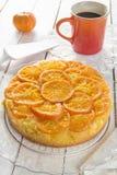 Mandarin cake Royalty Free Stock Photo