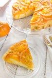 Mandarin cake Royalty Free Stock Photography