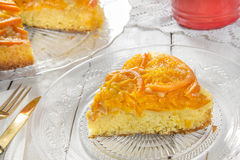 Mandarin cake Stock Image