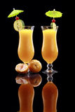 Mandarin Daiquiri or smoothie Stock Image