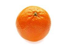 Mandarin die op wit wordt geïsoleerda. Stock Foto's