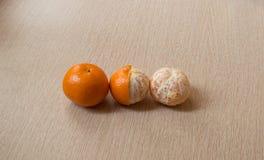 Mandarin evolution Royalty Free Stock Image