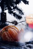 Mandarin för nytt år Royaltyfri Fotografi