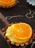 Mandarin French pastry Stock Photos