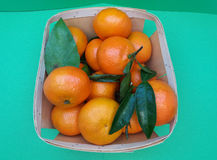 Mandarin fruit food Royalty Free Stock Photography