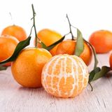 Mandarin fruit or tangerine Stock Image