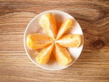 Mandarin. Fruit tangerine orange in a basket Stock Image