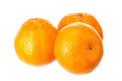 Mandarin fruits Stock Photography