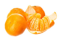 Mandarin fruits Royalty Free Stock Photo