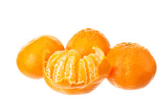 Mandarin fruits Royalty Free Stock Photos