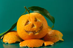 Mandarin halloween Royaltyfri Fotografi