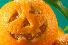 Mandarin halloween Arkivfoto