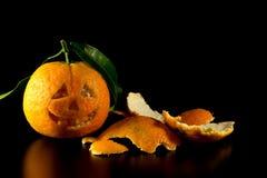 Mandarin halloween Royaltyfri Bild