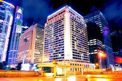 Mandarin het vijfsterrenhotel van Hotelhong kong stock fotografie