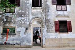 Mandarin house Stock Photo