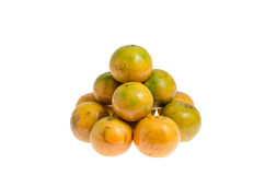 Mandarin  . includes a clipping path Stock Photo