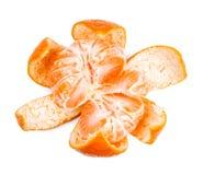 Mandarin isolated on white background Royalty Free Stock Photography