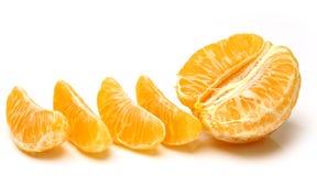 Mandarin isolated on white background. Royalty Free Stock Images