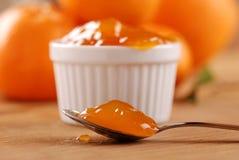 Mandarin jam Stock Image