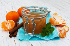 Mandarin jam Royalty Free Stock Image
