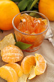 Mandarin Jelly Royalty Free Stock Image
