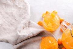 Mandarin juice Royalty Free Stock Photo