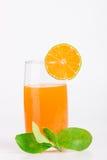Mandarin juice Stock Image