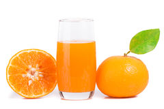Mandarin juice Royalty Free Stock Photography