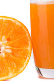 Mandarin juice Royalty Free Stock Image