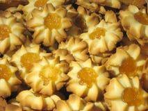 Mandarin koekjes Royalty-vrije Stock Afbeelding