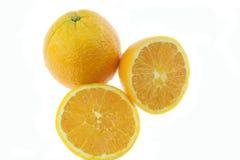 Mandarin lemon. Part of sweet mandarin lemon Stock Photos