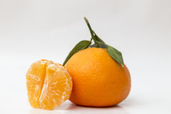 Mandarin and medium, citrus flavored Royalty Free Stock Photography