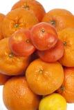 Mandarin and orange Royalty Free Stock Image