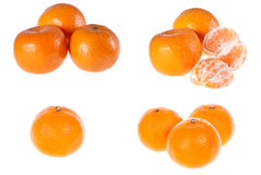 Mandarin, orange, citrus, heap, Royalty Free Stock Photos
