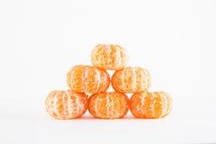 Mandarin orange, Citrus reticulata Stock Image