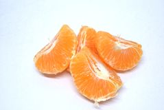 Mandarin orange fresh fruit. Ready to eat stock photos