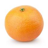 Mandarin Orange fruit (Tangerine) isolated on white Royalty Free Stock Photos
