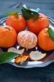 Mandarin orange fruit typical of winter Royalty Free Stock Image