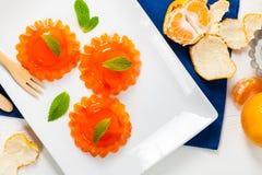 Mandarin Orange Jelly royalty free stock photography