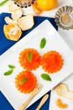 Mandarin Orange Jelly stock photo