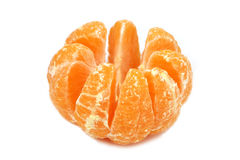Mandarin orange slices Stock Photography