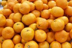 Mandarin orange tangerine Stock Images