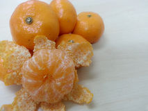 Mandarin Orange / Tangerine : Curvature Stock Photos